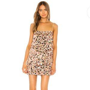 Chloe Mini Dress in Girls Night Lovers + Friends